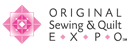 See me at… Original Sewing & Quilt EXPO